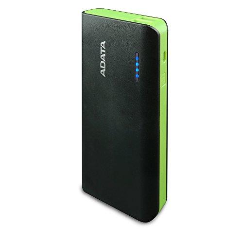 ADATA APT100 - Batería de 10000 mAh, negro y verde - VendeTodito
