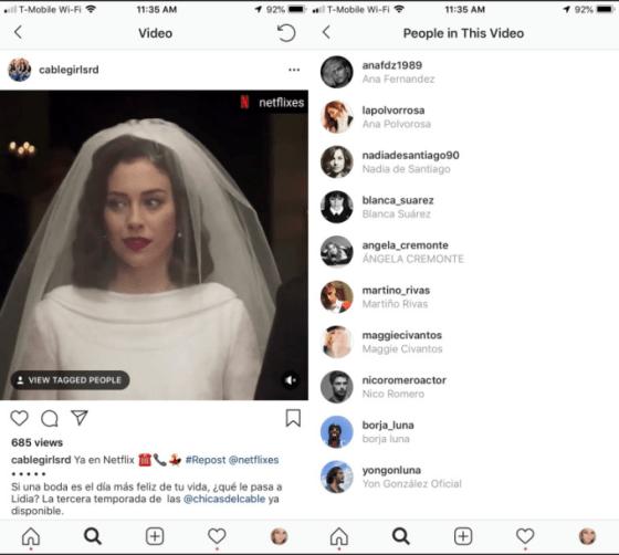 Instagram puede dividir los hashtags de los subtítulos para terminar con la sobresaturación