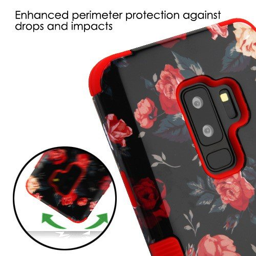 MyBAT Funda Case para Samsung S9 Plus Doble Protector de Uso Rudo TUFF, Multicolor - VendeTodito