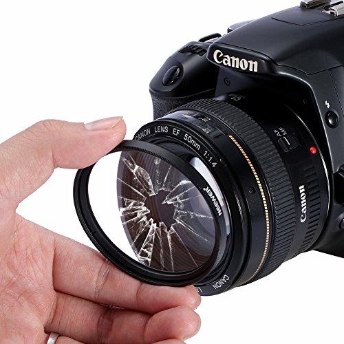 Neewer 10083981 Kit de accesorios para Canon Rebel DSLR Cámaras, 67 mm - VendeTodito