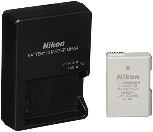 Nikon D3400 Cámara DSLR con Lente AF-P DX 18-55mm f/3-5-5.6G VR y AF-P DX 70-300mm f/4.5-6.3G ED VR - VendeTodito