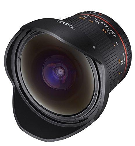 Rokinon 12mm F2.8 Ultra Wide Fisheye Lens for Nikon DSLR Cameras - Full Frame Compatible - VendeTodito