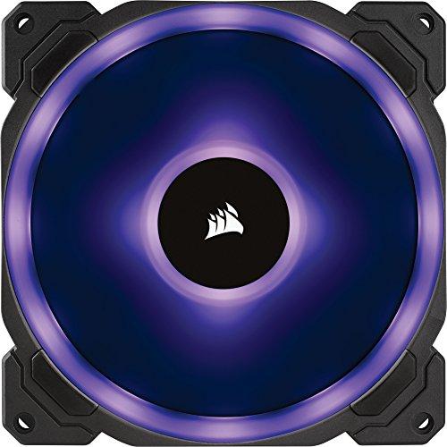 Corsair LL140 RGB Carcasa del Ordenador Ventilador - Ventilador de PC (Carcasa del Ordenador, Ventilador, 14 cm, 600 RPM, 1300 RPM, 25 Db) - VendeTodito