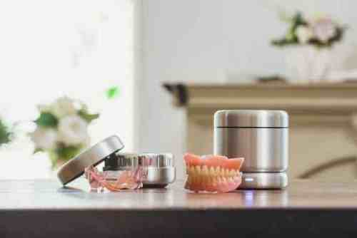 World's First Smart Oral Appliance Cleaner
