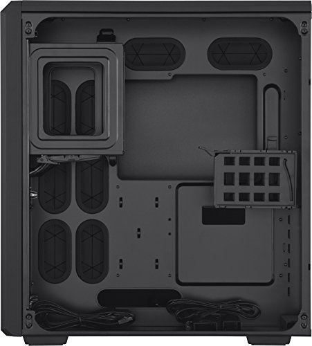 Corsair Serie Carbide Air 540 - Caja de torre de PC de alto flujo de aire, negro - VendeTodito