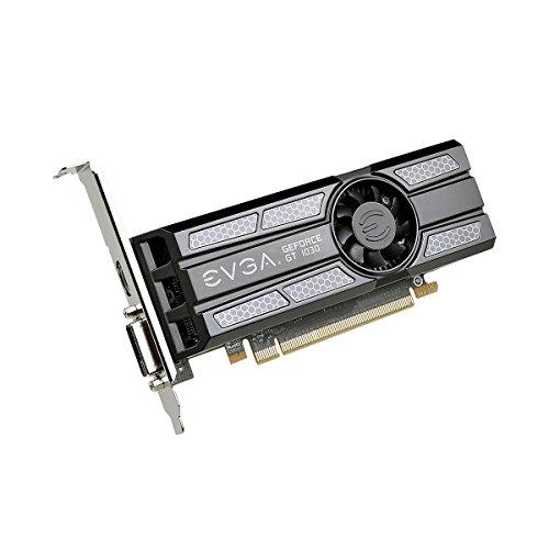 EVGA 02G-P4-6333-KR GeForce GT 1030 2GB GDDR5 - Tarjeta gráfica (GeForce GT 1030, 2 GB, GDDR5, 64 bit, 7680 x 4320 Pixeles, PCI Express x16 3.0) - VendeTodito