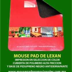 MOUSE PAD DE LEXAN
