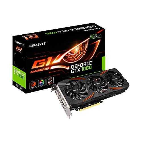 Gigabyte GV-N1080G1 GAMING-8GD Graphic Cards GTX 1080 G1 Gaming 8G - VendeTodito