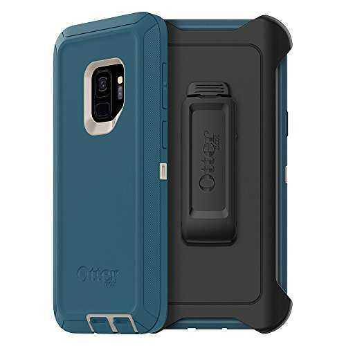 Otterbox Defender Series Case for Samsung Galaxy S9 - Frustration Free Packaging - Big Sur (Pale Beige/Corsair)