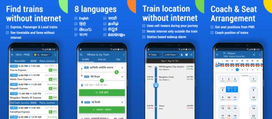 Google ha adquirido una de las aplicaciones de seguimiento de trenes más populares de la India.