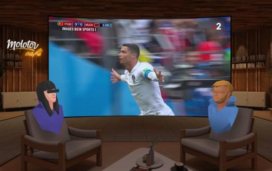 Molotov crea una cafetería de realidad virtual para ver la televisión juntos
