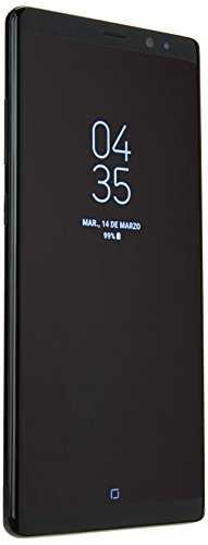 Smartphone Samsung Galaxy Note 8, 6GB de RAM, 128GB, color Negro. Telcel pre-pago