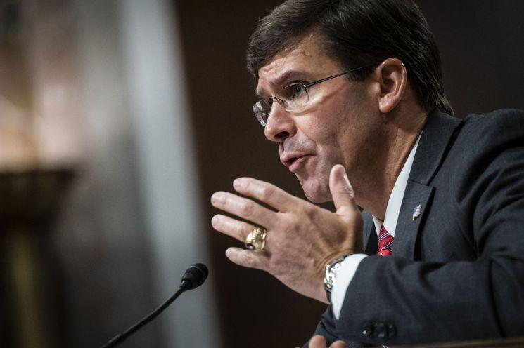 Senado celebra audiencia de confirmación para Mark Esper para secretario de Defensa