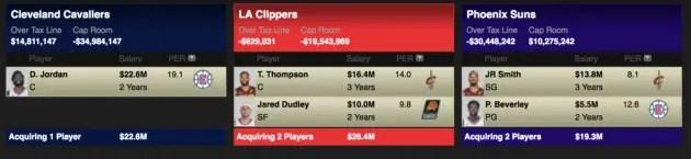 2018 NBA Trades
