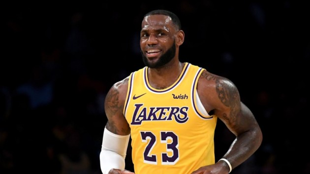 LeBron James point guard