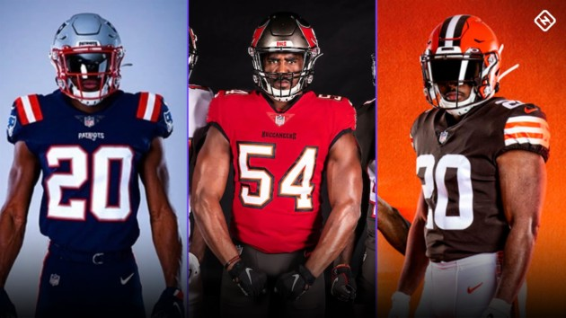 New NFL Uniforms