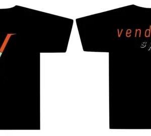 Vendetta Sports Striped V T-Shirt