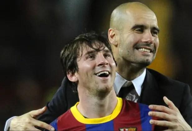 Guardiola Squash Messi Rumors
