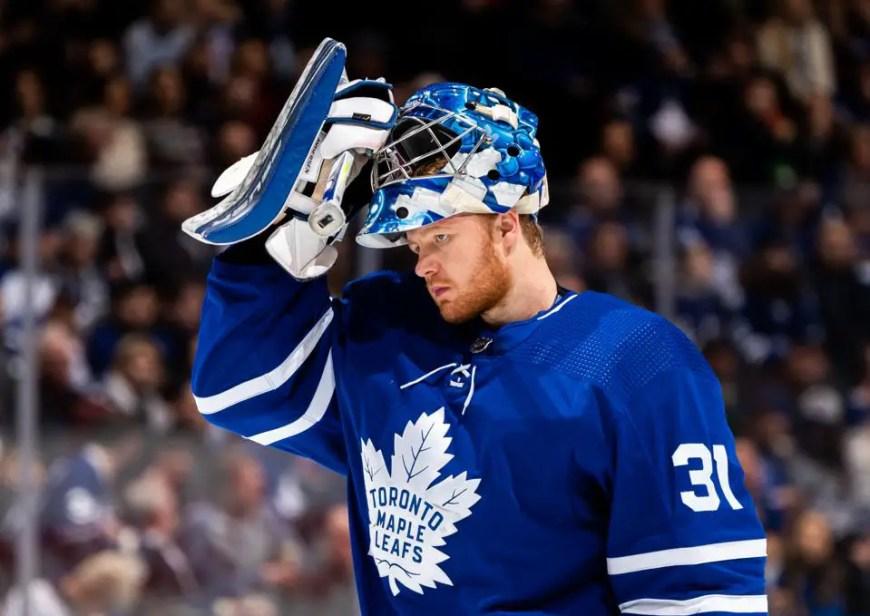 Leafs trade Freddie Andersen