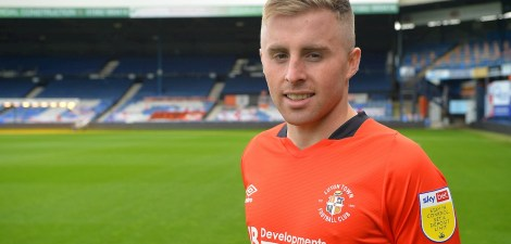 Luton Town signed Joe Morrell