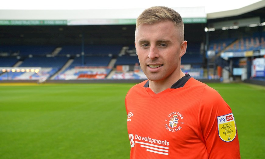 Luton Town signed Joe Morrell