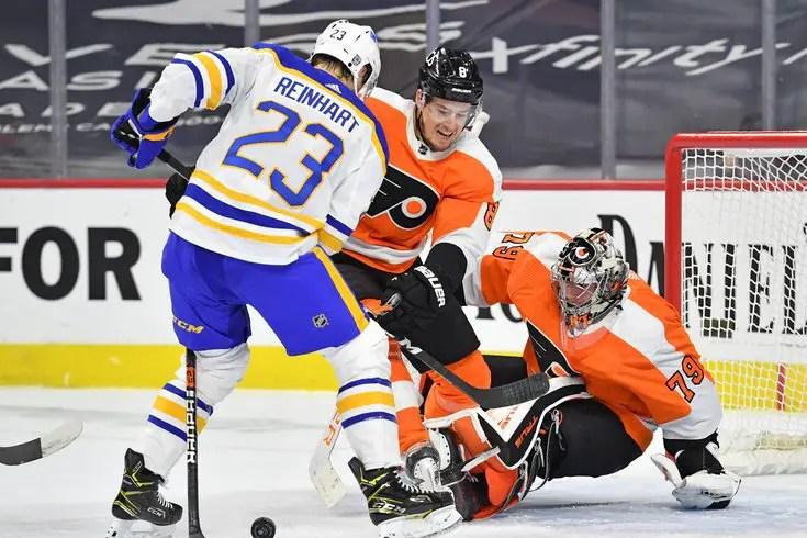 Sabres vs. Flyers (1/18/21)