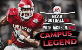 NCAA Football 09 Campus Legend