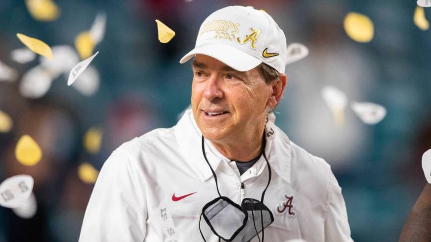 Nick Saban is the G.O.A.T.