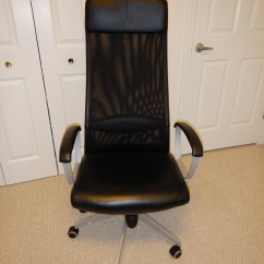Office Chair On Rent 8 Patio Dining Set Loanables Ikea Markus Desk Located In