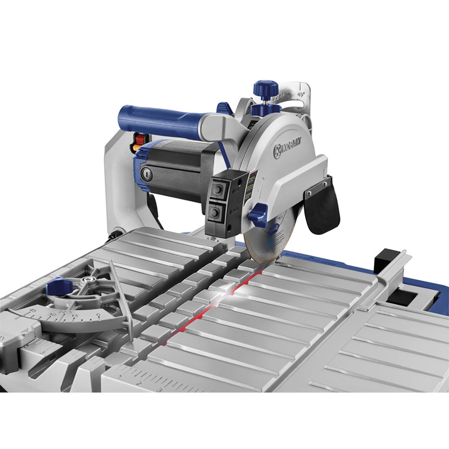 kobalt 7 in wet dry table tile saw with stand