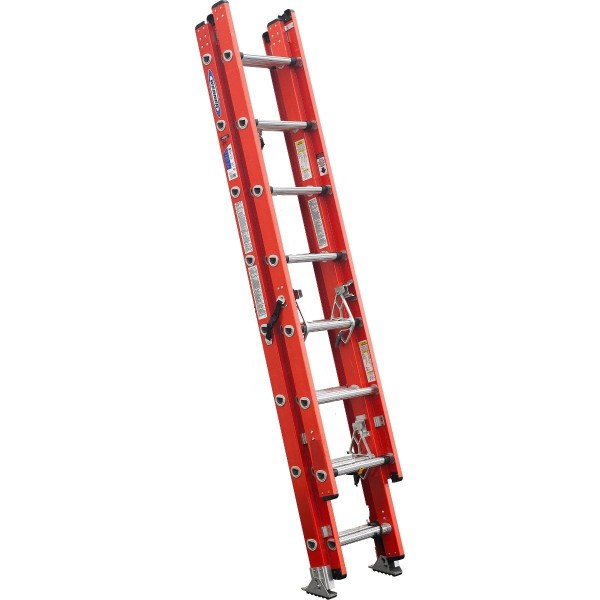 Loanables 20' Ft Fiberglass Extension Ladder Rental Located In Chattanooga Tn