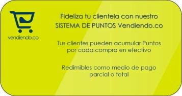 Sistema de Puntos Vendiendo.co