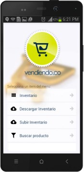 App MOVIL de Inventarios Vendiendo.co