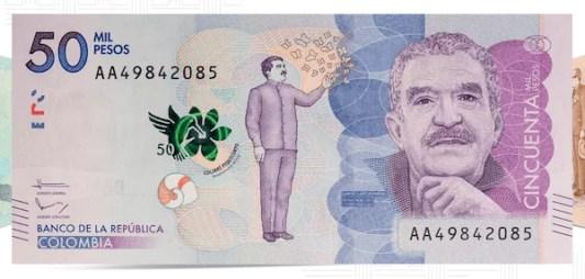 Identificar billetes falsos de 50000 pesos