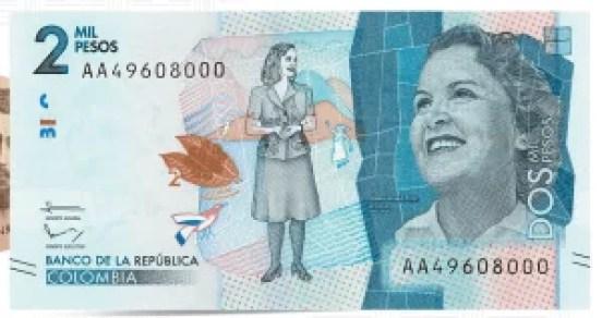 Identificar billetes falsos de 2000 pesos