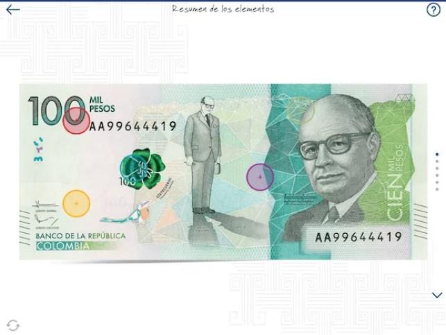 Identificar un billete falso - Reconociendo el billete