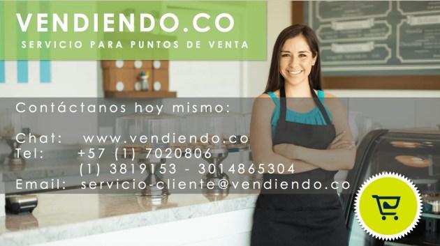 Contactos Vendiendo Sistema POS Colombia