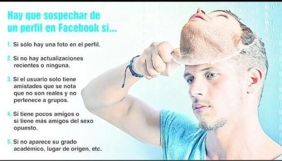 Perfil falso facebook