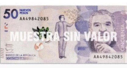 Billetes colombianos sin tres ceros