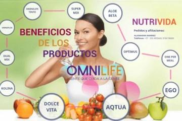 Para que sirven los productos Omnilife