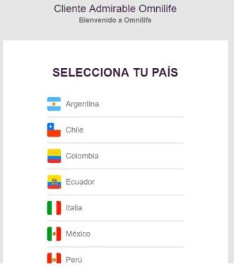 Selección País