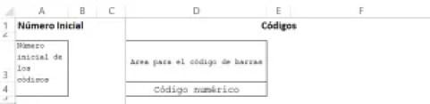 Plantilla inicial Excel