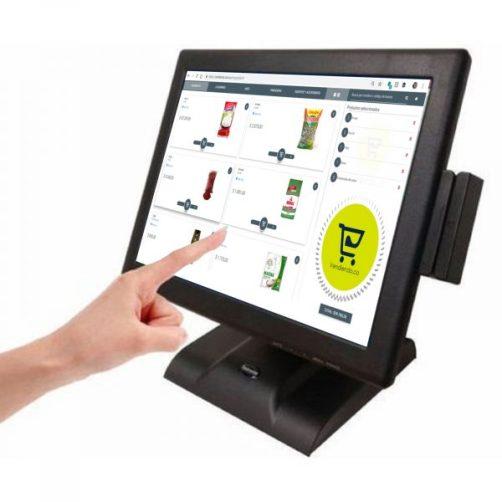 pantallas tactiles Vendiendo