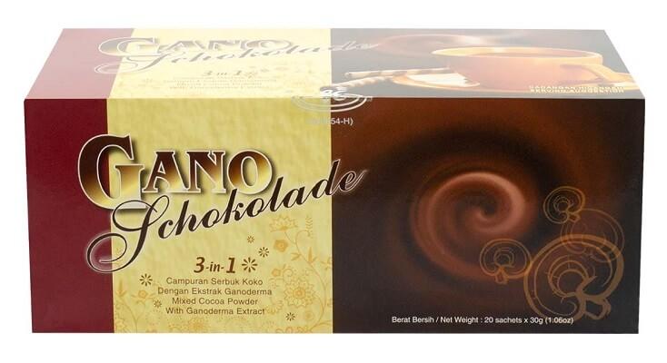 gano schokolade - chocolate gano excel