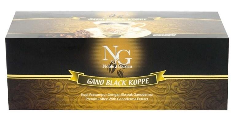 Noble Garden Black Koppe Productos gano excel