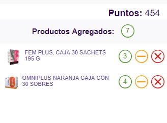 Productos del pre pedido Omnilife