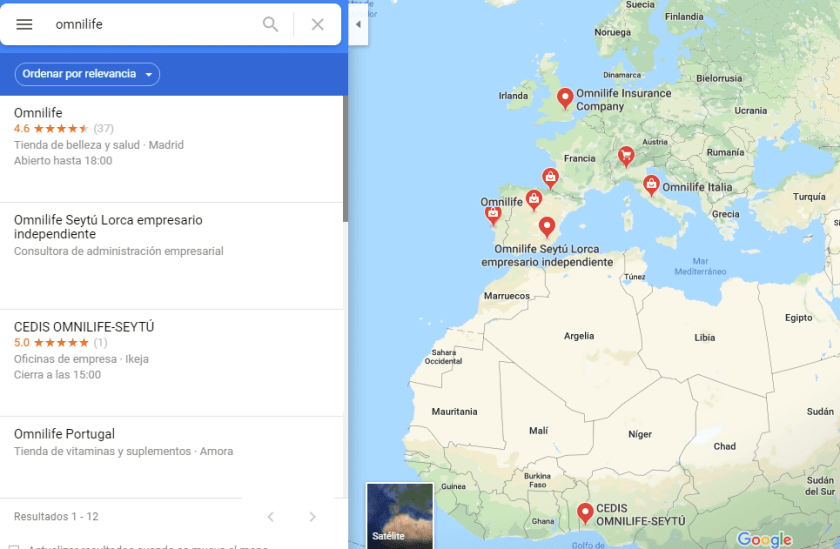 Tiendas Omnilife España Italia Nigeria Rusia