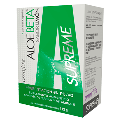 aloe beta supreme productos