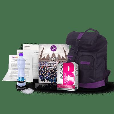 kit mochila nutricional productos omnilife argentina