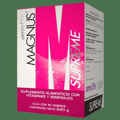 magnus supreme productos omnilife mexico